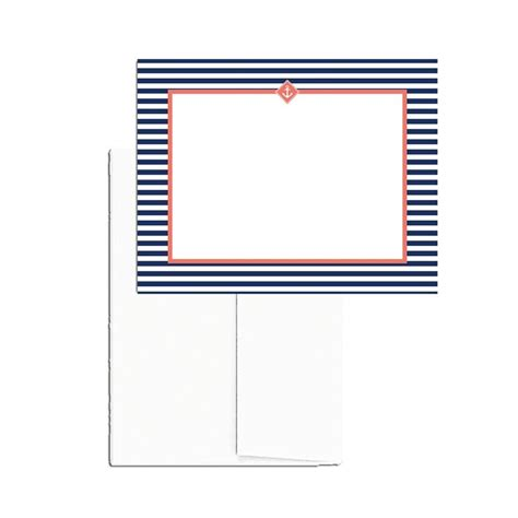 printable blank note cards 25 printable blank note cards with envelopes nautical