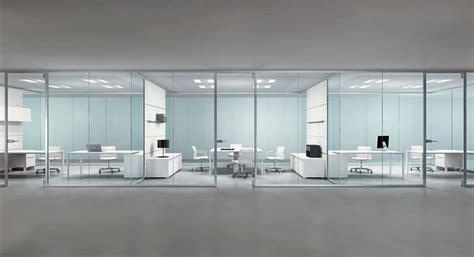 pareti vetro ufficio pareti divisorie casa design