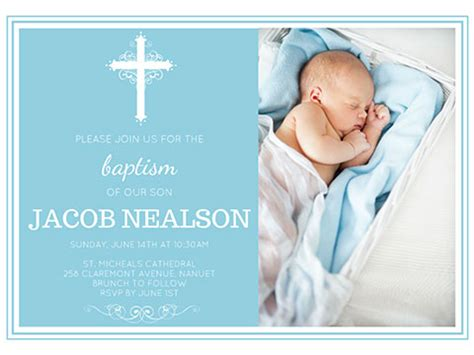 baptismal invitation layout maker holy celebration invite smilebox