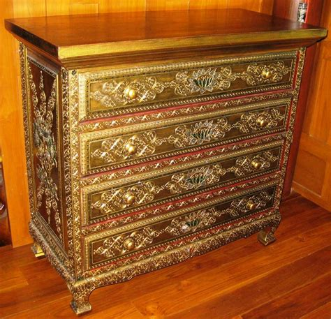 thai hand carved furniture set