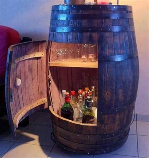 wine barrel liquor cabinet 9 liquor storage ideas for small spaces vinepair