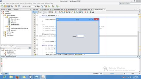 java layout labels text fields java my swing arrangements is not clear when clicking
