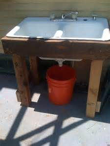 garden sink ideas outdoor sink makes water recycling simple root simple