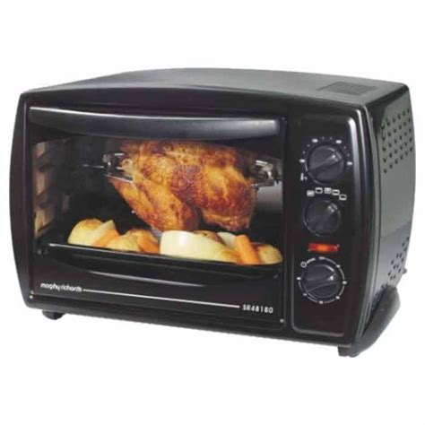 Toaster Oven Temperature Control Morphy Richards Oven Toaster Griller Otg 18 Rpc Sr 48180