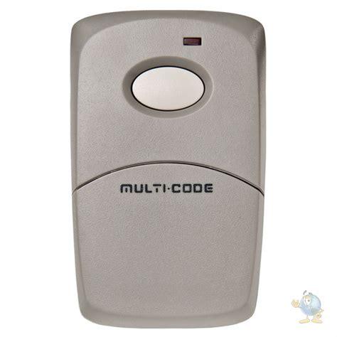 Multi Remote multi code 1 button visor remote
