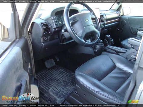 2003 Land Rover Interior by Black Interior 2003 Land Rover Discovery Se Photo 13