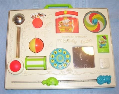 Crib Activity Board by Fisher Price Vintage Crib Playpen Activity Center Baby