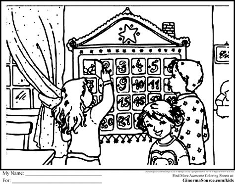 Jesse Tree Coloring Pages Az Coloring Pages Tree Advent Calendar Coloring Page
