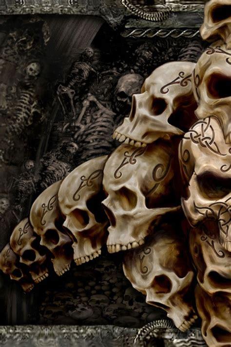 skull wallpapers  android wallpapersafari
