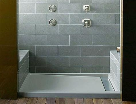 Kohler Groove Shower Pan recommendation for better looking shower pan