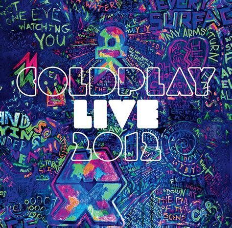 coldplay cover coldplay live 2012 album cover coldplay graffiti