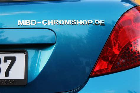 Buchstaben Aufkleber F R Auto by Mbd Chromshop 3d Autoaufkleber Chrombuchstaben