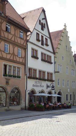 hotel gothisches haus hotel picture of hotel gotisches haus rothenburg