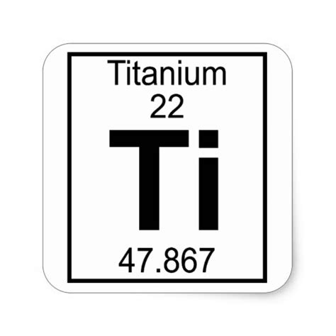 Titanium On Periodic Table by Titanium Periodic Table Periodic Diagrams Science