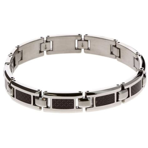 Bracelet Homme Acier Carbone