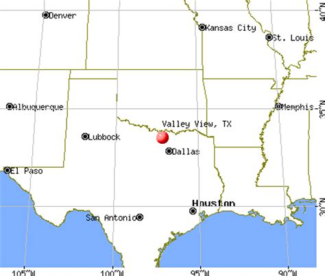valley view texas map valley view texas tx 76272 profile population maps real estate averages homes