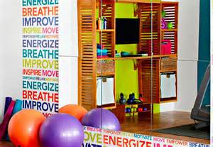 Other Words For Home Decor Home Gym Makeover