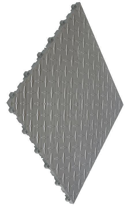 Diamond Plate Flooring Tiles: Swisstrax Garage & Event