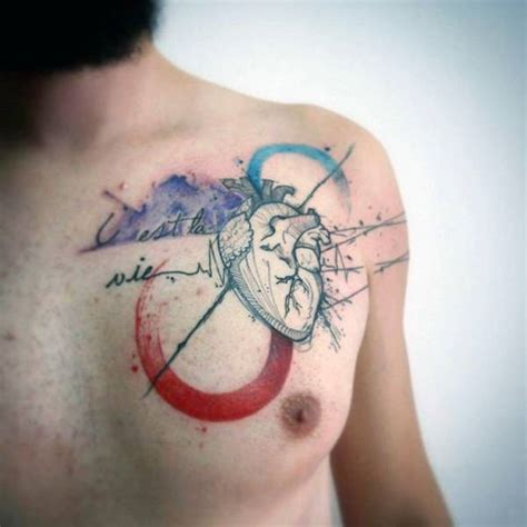 watercolor tattoo on chest 100 watercolor designs for cool ink ideas