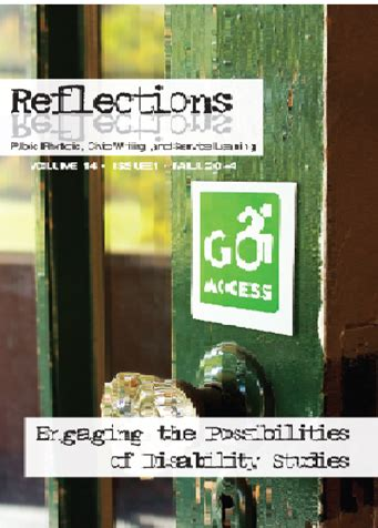 reflections volume books vol 14 2014 15 reflections