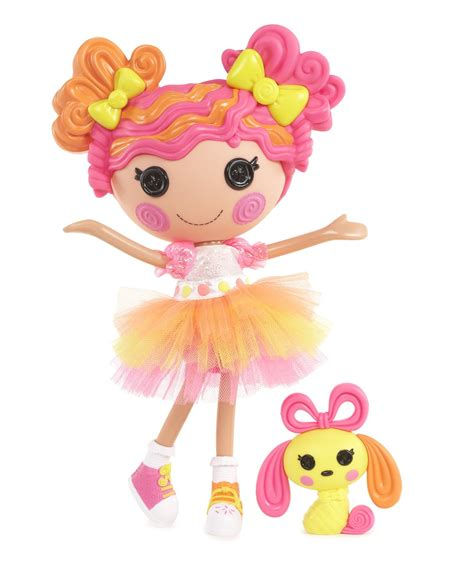 Mini Big Orange Pink lalaloopsy sweetie ribbon buy me a doll