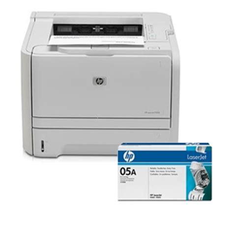 Toner Hp 05a hp laserjet p2035 printer hp 05a ce505a black toner cartridge bundle at tigerdirect