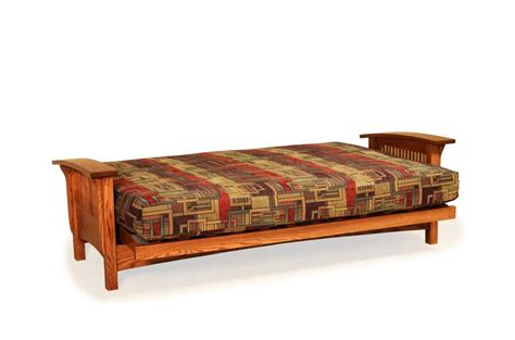 amish mission futon bed