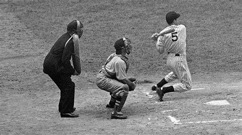 joe dimaggio swing joe dimaggio 70th anniversary of joe dimaggio s 56 game