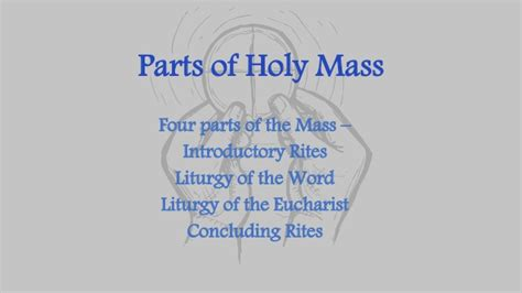 Parts Of Holy Mass Rv 3