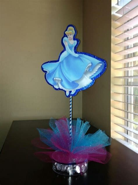 cinderella centerpiece laura bday ideas pinterest