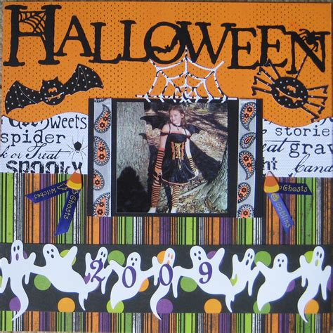 scrapbook layout ideas for halloween scrapbooking layout halloween 15 minute scrapbooker