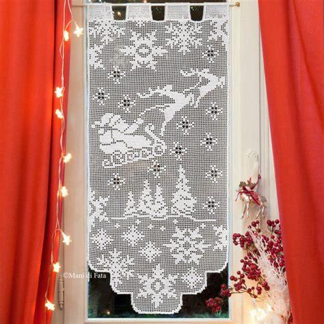 schemi per tende ad uncinetto schema per fare tenda ad uncinetto filet cortinas