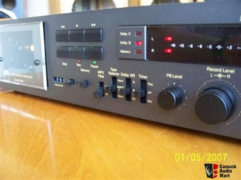 nad cassette deck nad 6150c cassette deck photo 785275 canuck audio mart