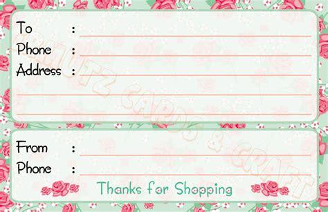 1 Pack Stiker Sticker Label Pengiriman Olshop Murah Lb027 desain rumah langsung toko des rumah