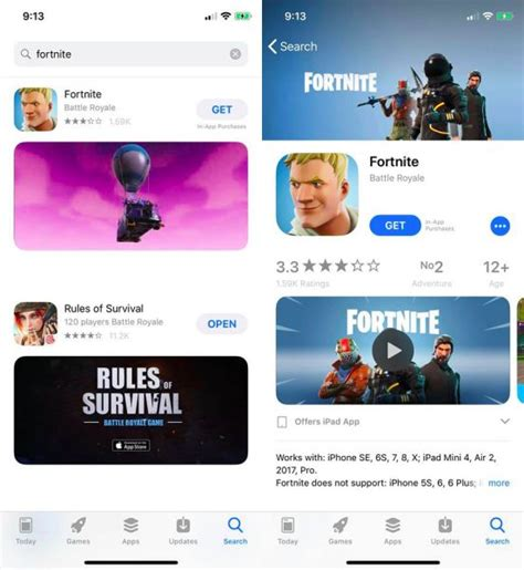 will fortnite be on android fortnite now available for on ios android