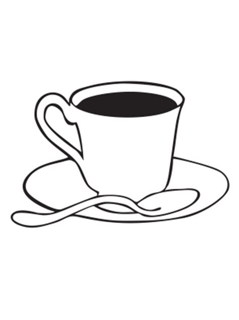 Tea Cup Coloring Sheets Free Printable Tea Cup Coloring Pages
