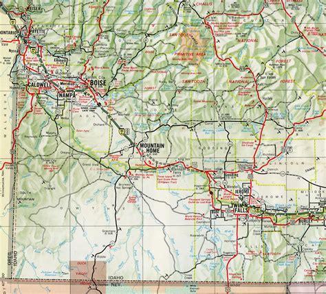 map of oregon highway 84 interstate guide interstate 84 western