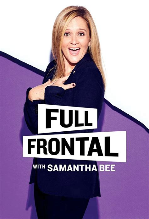 full frontal with samantha bee s01e33 frontal with bee serie tv 2016