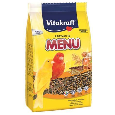Diskon Vitakraft Canaries Premium Menu 1 Kg Makanan Burung Vitakraft 250 Premium Para Canarios 1kg Tiendanimal