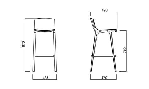 misure sgabello sgabello in legno seame stool per arredo bar dsedute