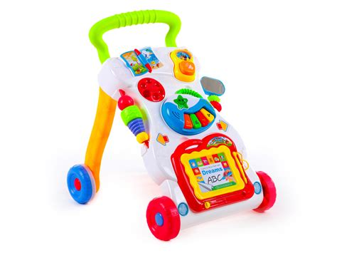 baby walker with lights and sounds walker sounds lights push along baby walker steps