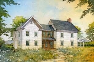American Farmhouse Style Quot Madson Design House Plans Gallery American Homestead
