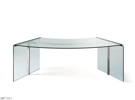 bureau en verre but bureau en verre pr 233 sident par gallotti et radice epoxia