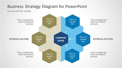 business strategy template powerpoint 6092 01 business strategy diagram 2 slidemodel