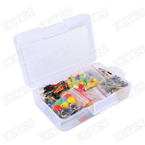 breadboard resistor kit starter kit for arduino resistor led capacitor jumper wires breadboard resistor kit with