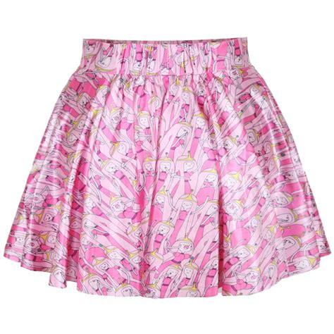satin mini pleated skirt with pattern idreammart
