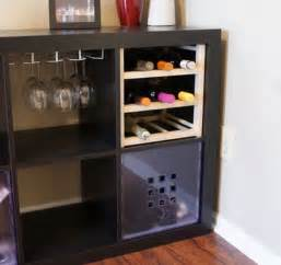 ikea hack bar 25 ikea kallax or expedit shelf hacks hative
