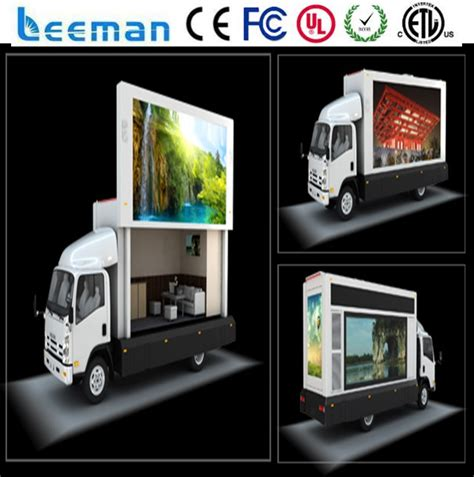 mobile by conduit aliexpress buy leemanled mobile led signs