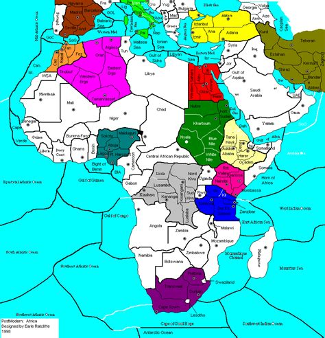africa map modern image pm africa gif