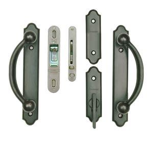 andersen 400 series gliding door handle encino andersen 174 gliding patio door hardware complete trim set